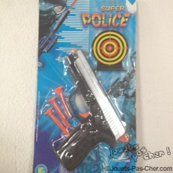 Pistolet avec 3 Flèches + Cible
