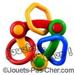 Jouet Éducatif Triangle Rings