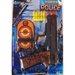 Panoplie Super Police avec Cibles