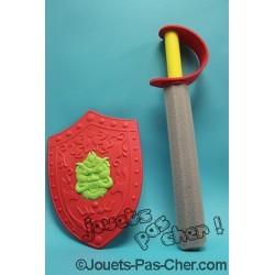 Épée + Bouclier en Mousse