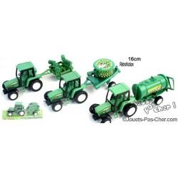 Tracteur + Remorque 16cm
