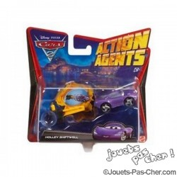 Coffret Flash Mc Queen Cars 2 Action Agents