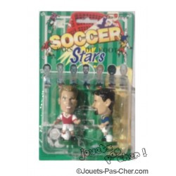 "Figurines ""Stars du Foot"""