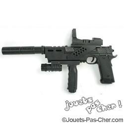 Pistolet à Billes 18/26cm Modulable