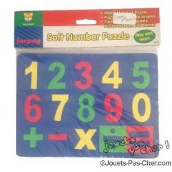 Puzzle Numéros Souples Éducatif