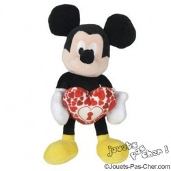 Peluche Mickey / Minnie 17 cm
