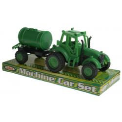 Tracteur + Remorque 18cm