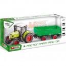 Tracteur + remorque 42cm